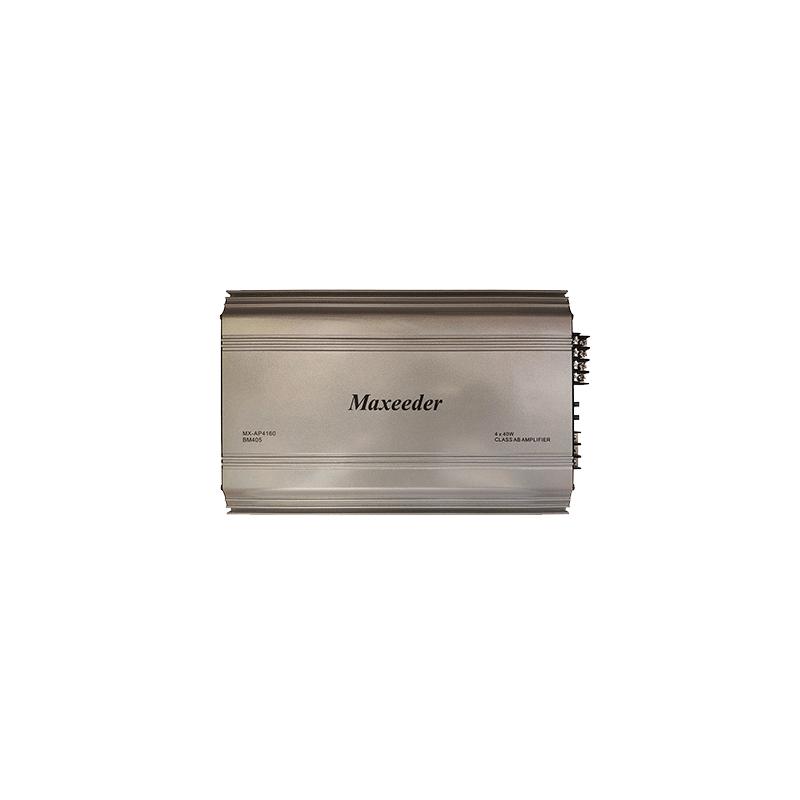 Maxeeder MX-AP4160BM405 Car Amplifier
