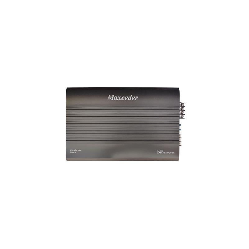 Maxeeder MX-AP4160BM406 Car Amplifier