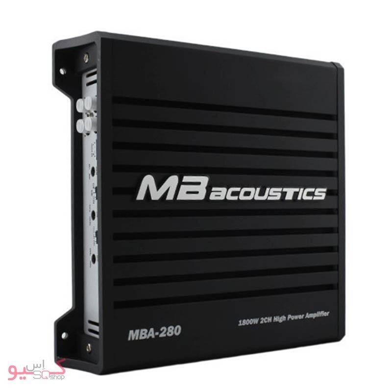 MB Acoustics MBA-280 Car Amplifier