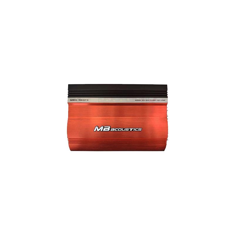 MB Acoustics MBA-480FX Car Amplifier