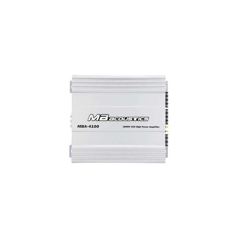 MB Acoustics MBA-4100 Car Amplifier