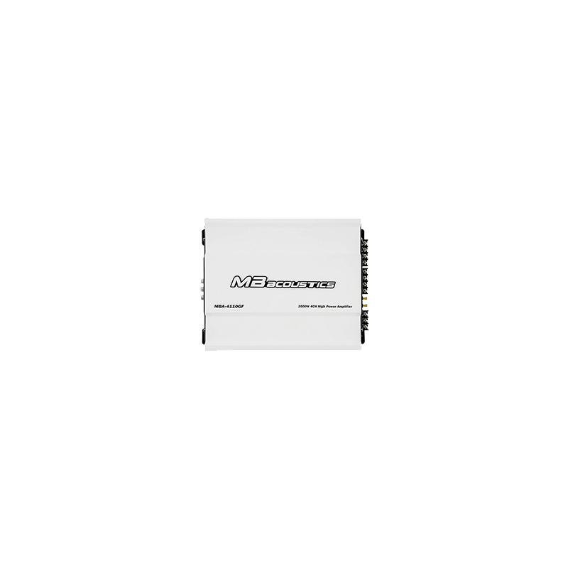 MB Acoustics MBA-4110 Car Amplifier