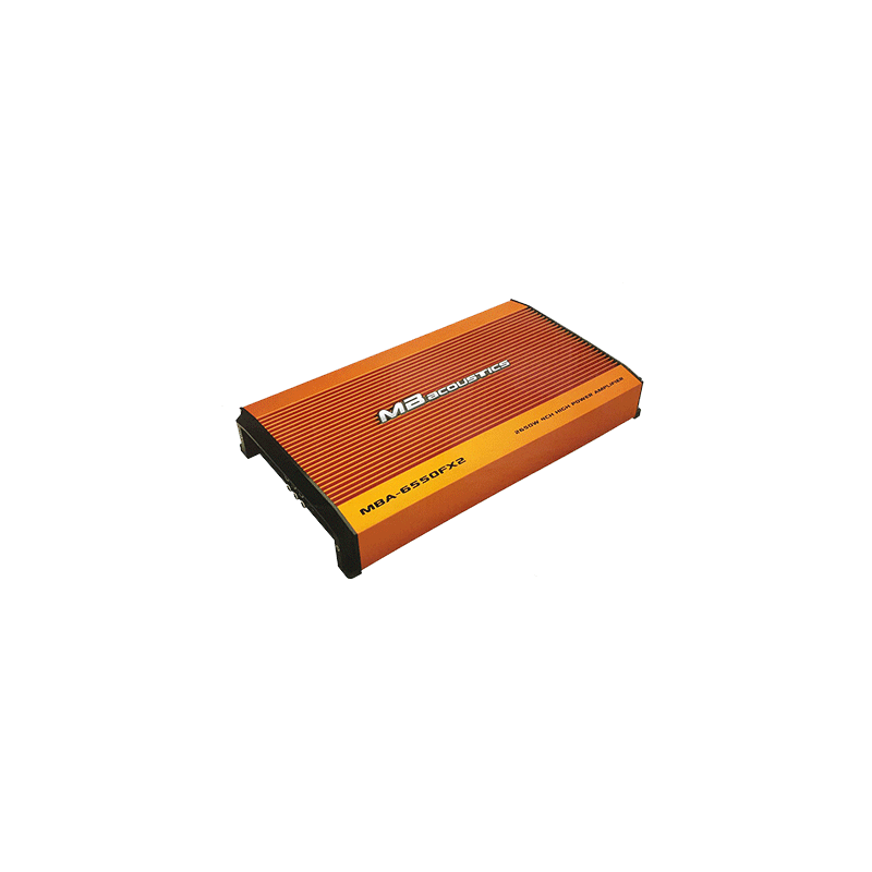 MB Acoustics MBA-6550FX2 Car Amplifier