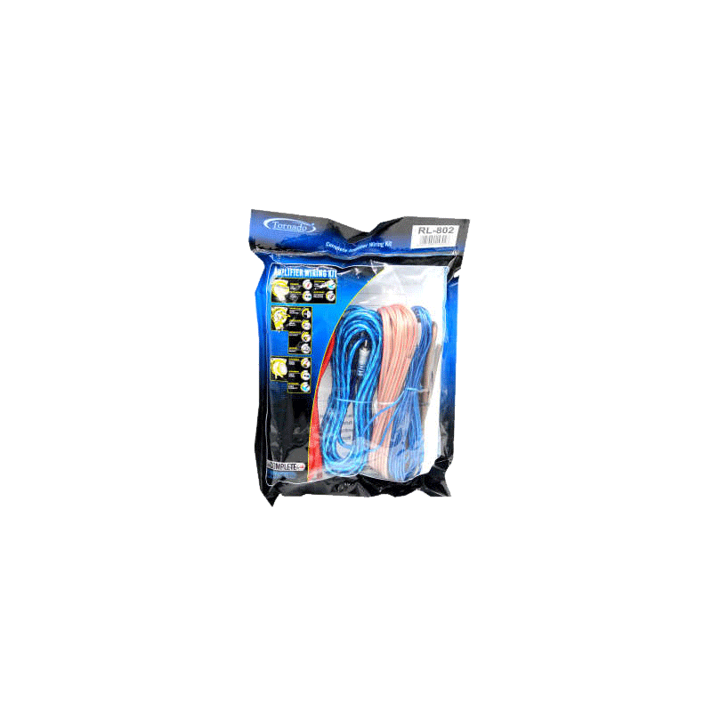 Tornado RL-802 Car Amplifier Cable