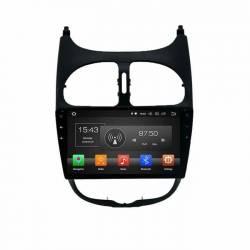 بادوربینPEUGEOT-206 Car Android monitor