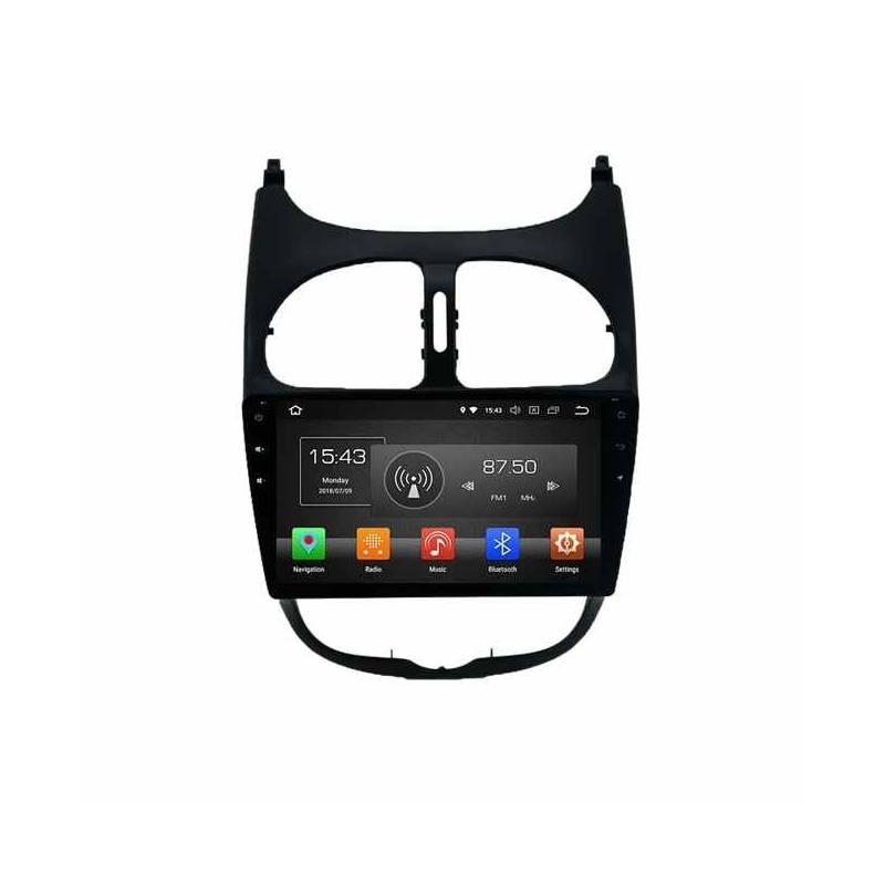 PEUGEOT-206 Car monitor