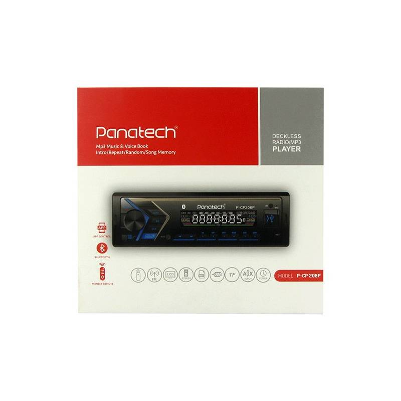 Panatech P-CP208 Car Audio