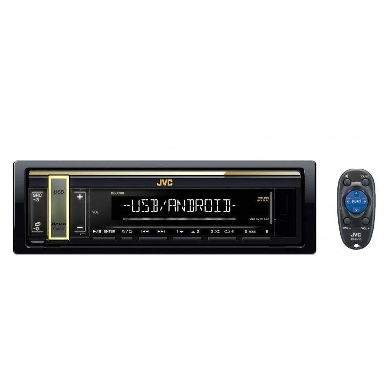 JVC KD-X168M Car Audio